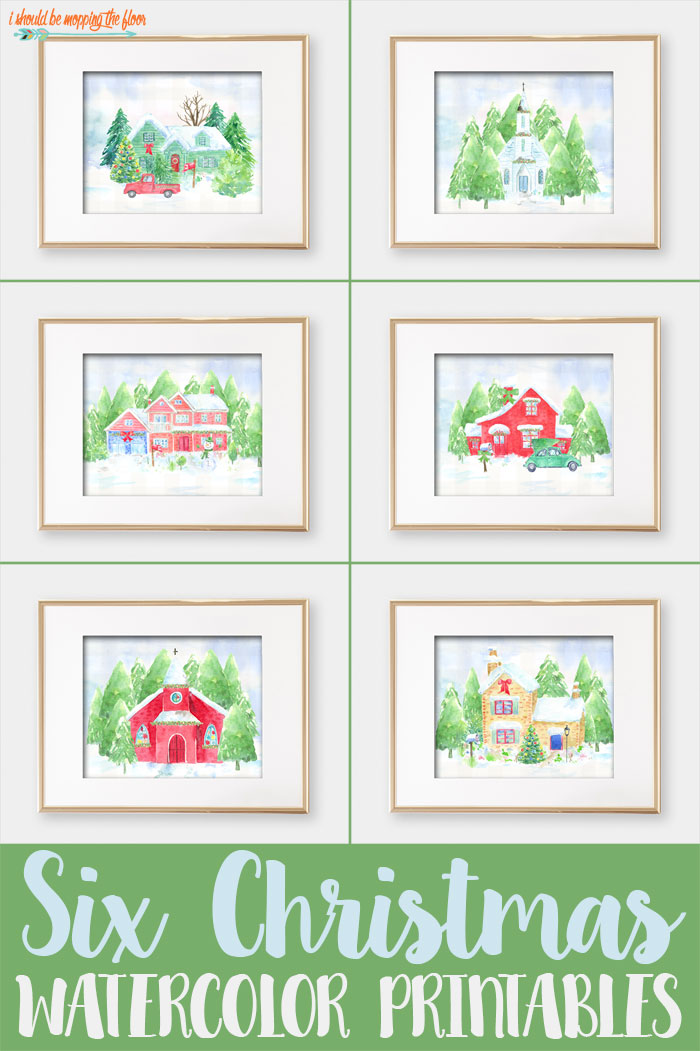 Home for Christmas Printables