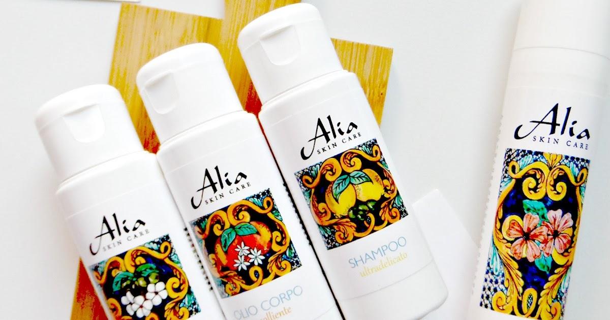 [angolo toelette] ... di Alia Skin Care, profumi di Sicilia & maioliche { overview }