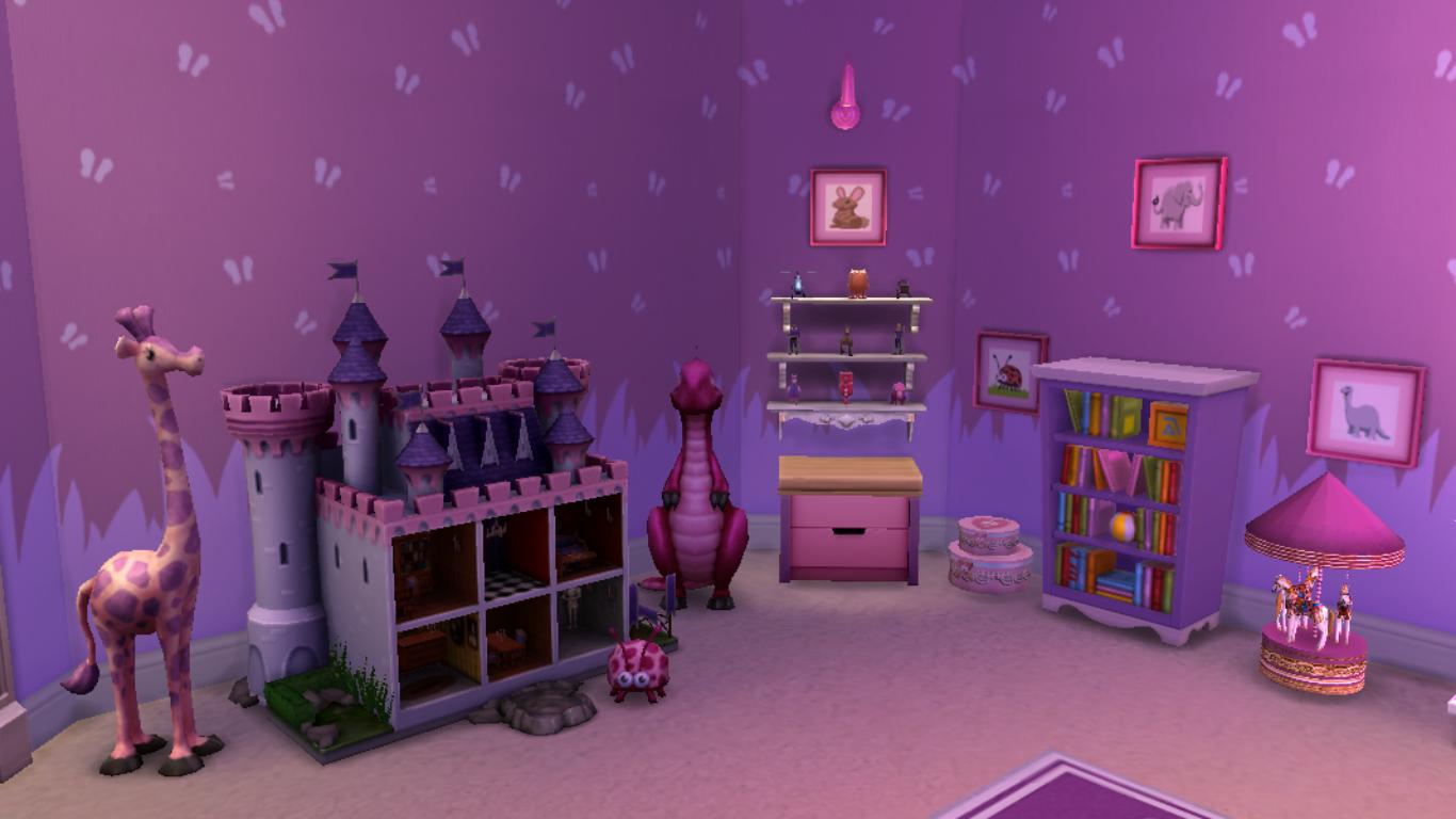 Sims 4 Kidsroom Girls