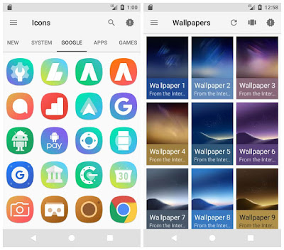Color S8 Icon Pack Full Apk