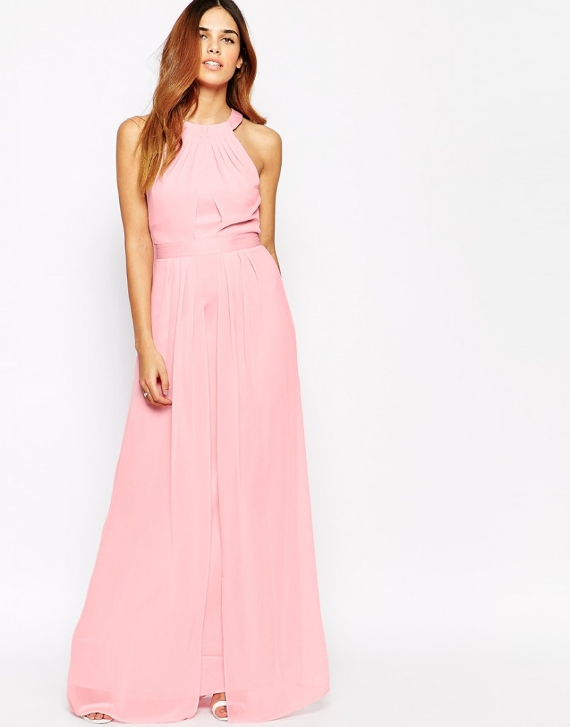 Relaxed bridesmaid dress blush peach fashionable clothings relaxed bridesmaid dress blush peach ombrellifo Images