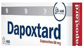 دواء دابوكستارد Dapoxtard مضاد الاكتئاب, لـ علاج, سرعة القذف المرتبط باضطرابات القلق والتوتر والاكتئاب, القذف المبكر, السيطرة على القذف, ضعف الانتصاب, القلق والتوتر الجنسي.
