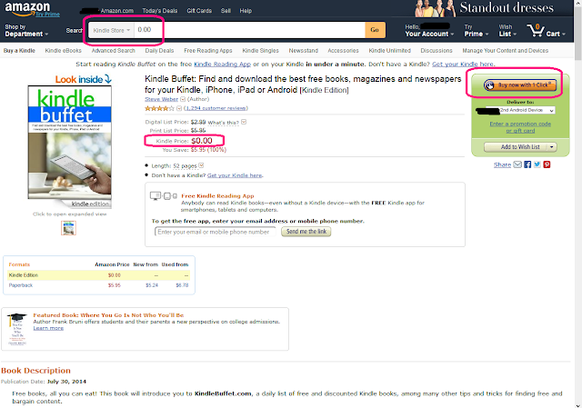 how to get free ebooks on amazon