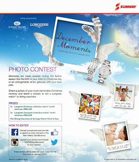 sunway - CONTEST - Win Longines watches worth RM4,050