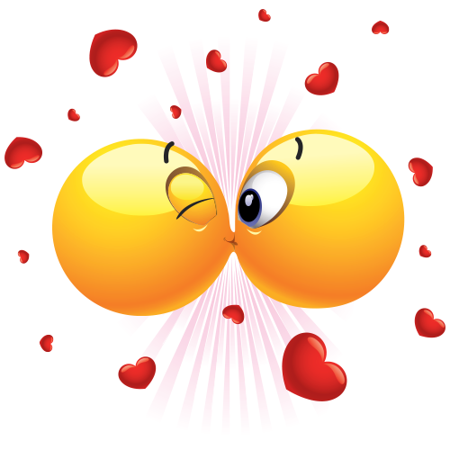 Of Smiley Faces Emoticons Kisses