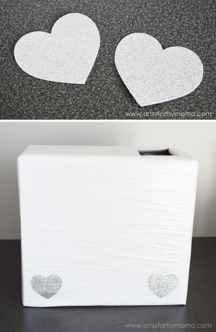 unicorn valentine card box | artsy-fartsy mama