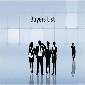 How build money and make profits with a Buyer list and kiss?