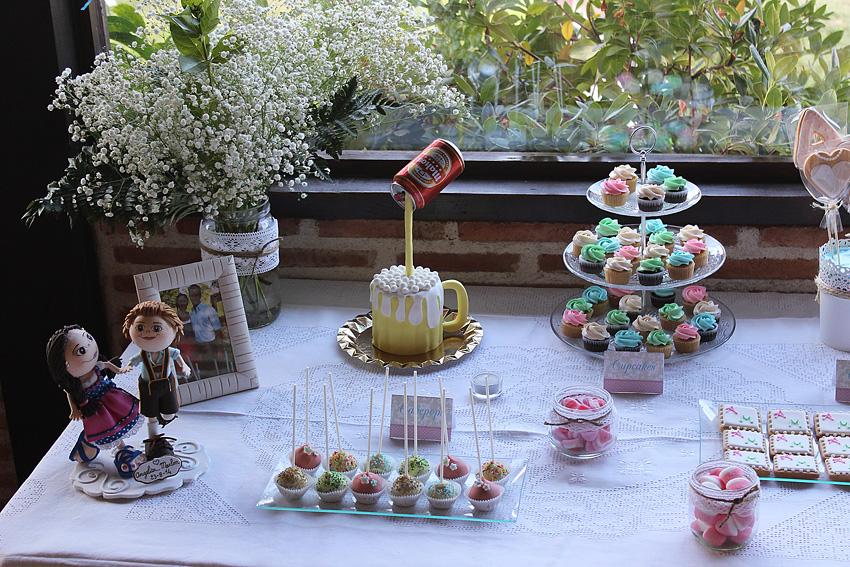 Jarita 39 s cookies mesa dulce de boda for Dulce boda