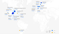 Google's Power Purchase Agreements (PPA) for solar and wind installations across the globe. (Credit: Google) Click to Enlarge.
