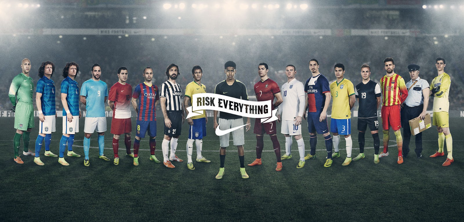 Nike Risk Everything Neymar Nike Launch Epic 'Winn...