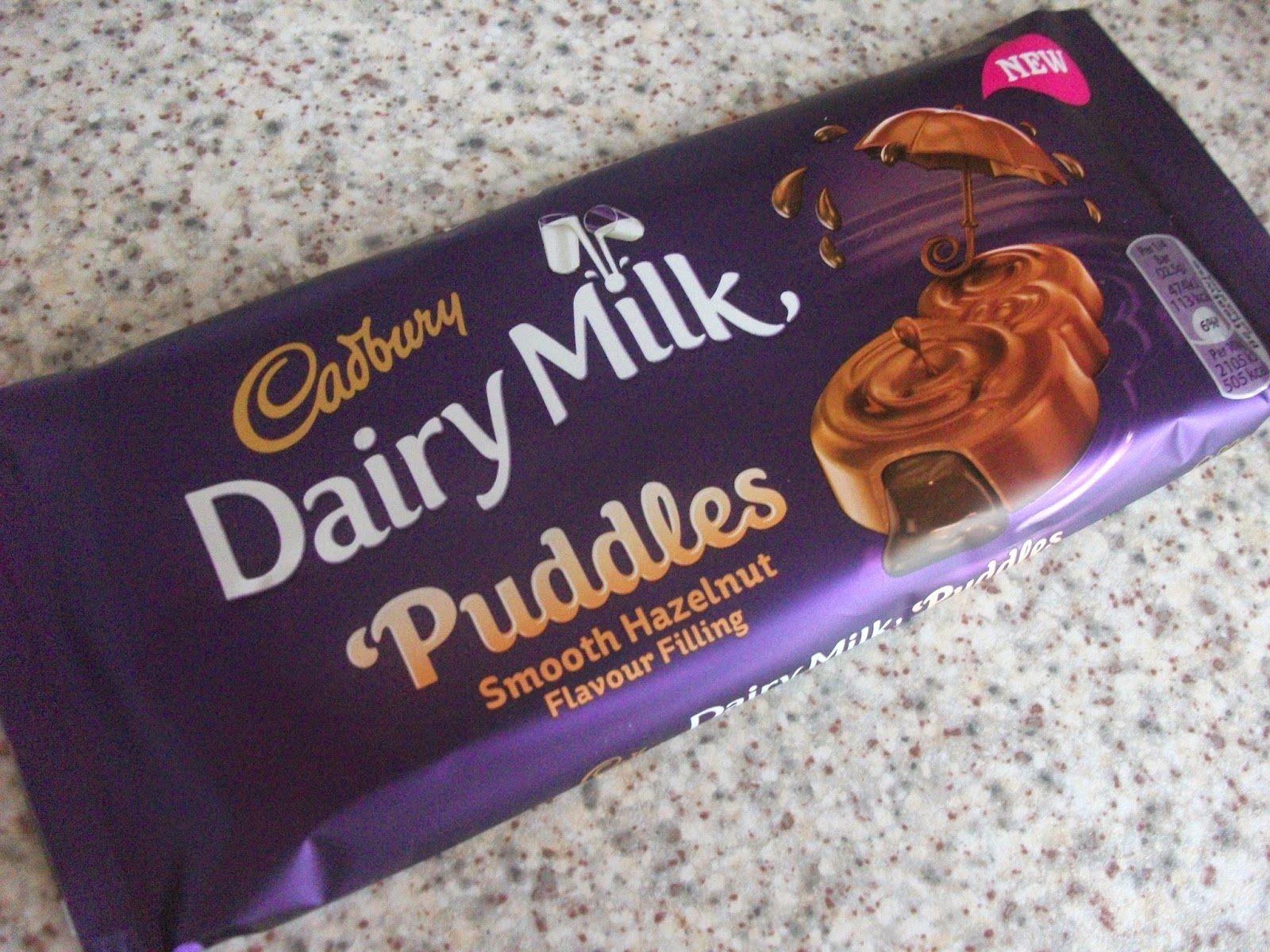 cadbury dairy milk puddles smooth hazelnut
