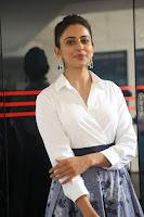Rakul Preet Singh looks super cute in White Shirt and Skirt at Jaya Janaki Nayaka press meet 10.08.2017 006.JPG