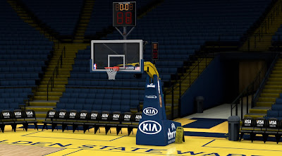 NBA 2K14 Golden St. Warriors Court Update
