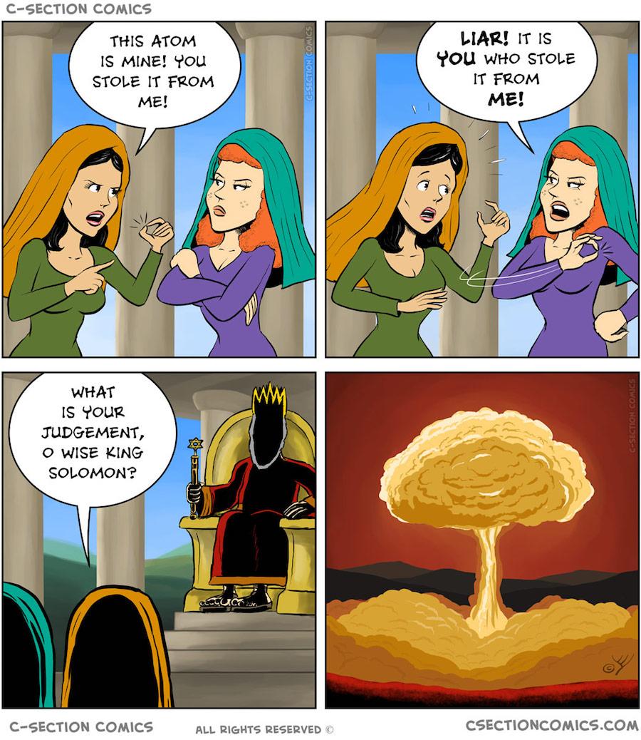 Solomon atomic bomb