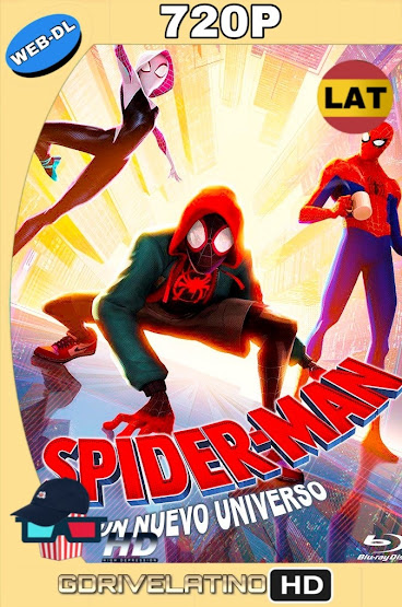 Spider-Man: Un Nuevo Universo (2018) WEB-DL 720p Latino-Ingles MKV