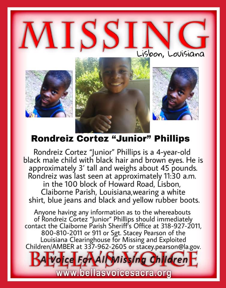 Biggest Ark-La-Tex mystery: One year ago a little boy from Claiborne Parish disappeared without a trace