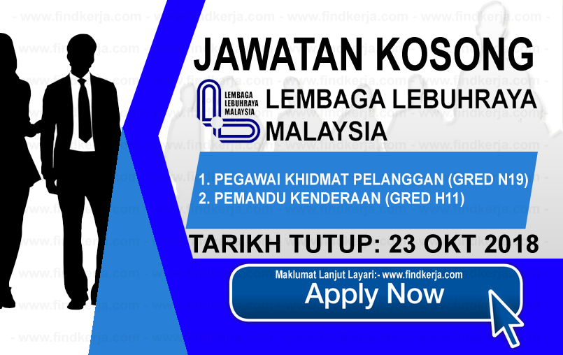 Jawatan Kerja Kosong LLM - Lembaga Lebuhraya Malaysia logo www.ohjob.info www.findkerja.com oktober 2018