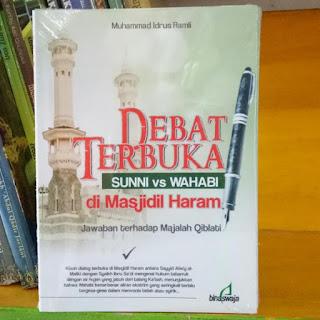 Buku Debat Terbuka Sunni vs Wahabi di Masjidil Haram