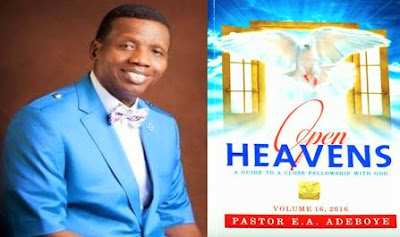 Open Heavens Devotional 18 August 2016