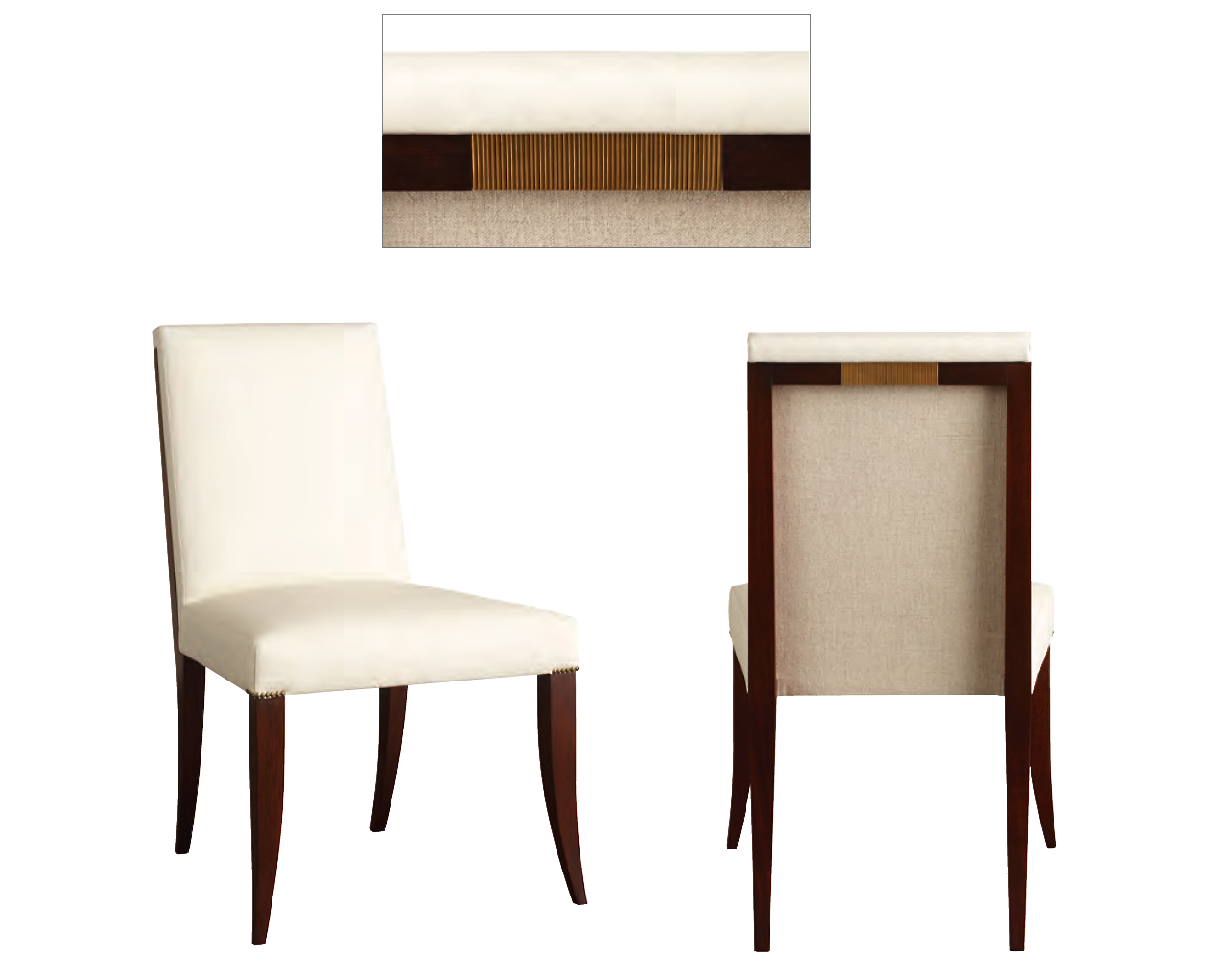 Baker Tufted Dining Chairs Houses Gardens People Dallas Design News Early Summer 2012