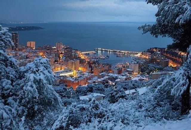 Inverno em Mônaco