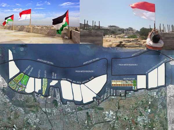 Tembok Gaza DiTeluk Jakarta