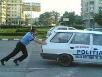 Politia Romana in actiune
