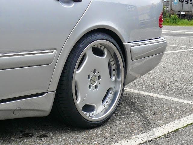 mercedes w210 carlsson wheels