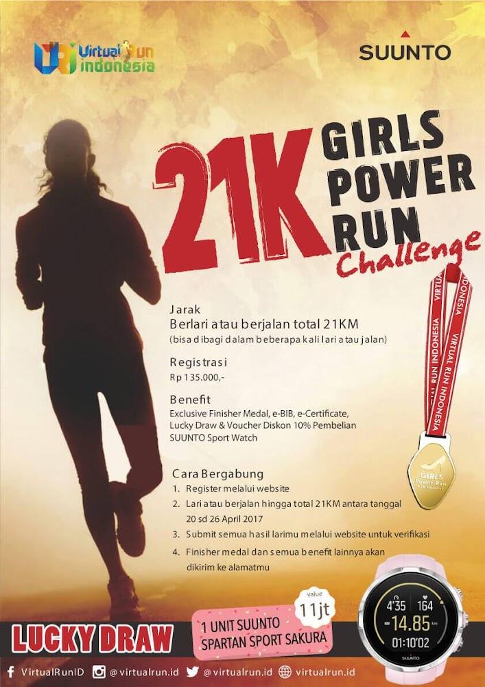 21K Girls Power Run Challenge • 2017