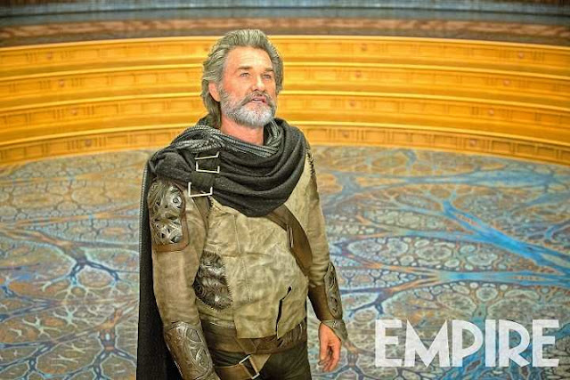 Kurt Russell en Guardians of the Galaxy Vol 2