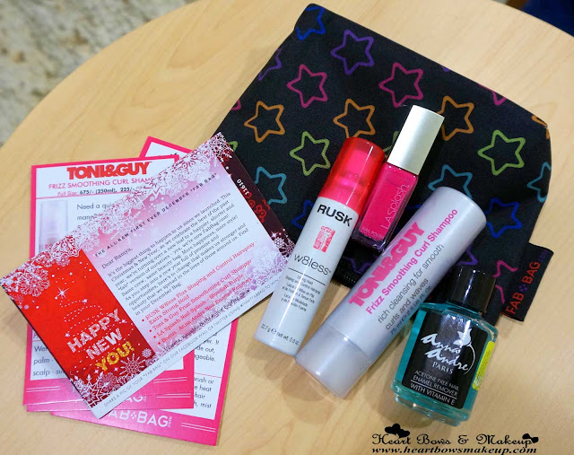 Fab Bag Vellvette Bag december review products india