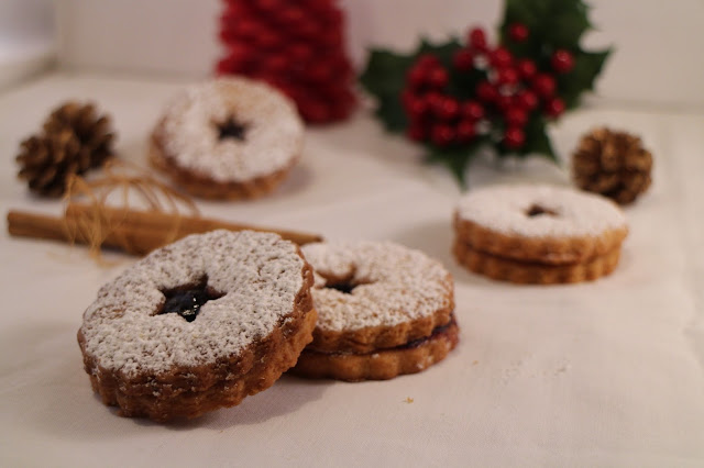 blueberry-linzer-cookies, galletas-linzer