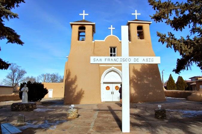 San Francisco of Assisi Mission Church taos