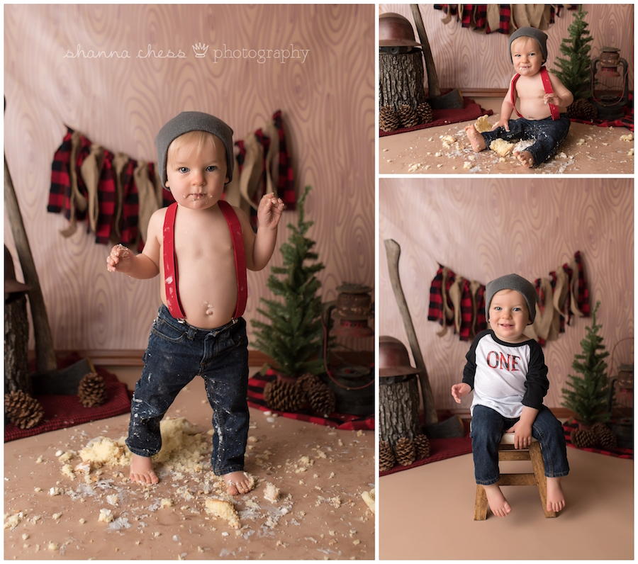 eugene oregon baby cake smash photographer