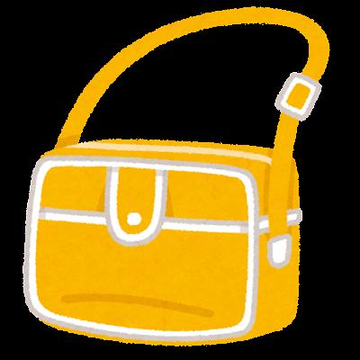 通園バッグのイラスト