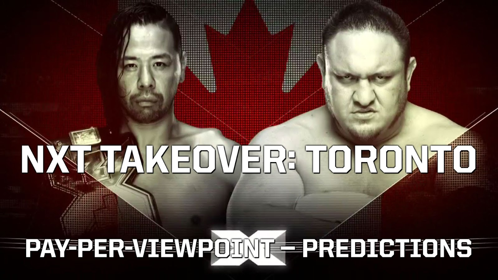 WWE NXT TakeOver: Toronto spoilers podcast