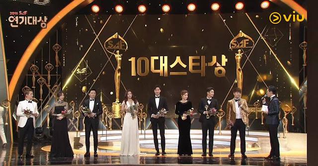 Viu Hadirkan Tayangan SBS Award 2016
