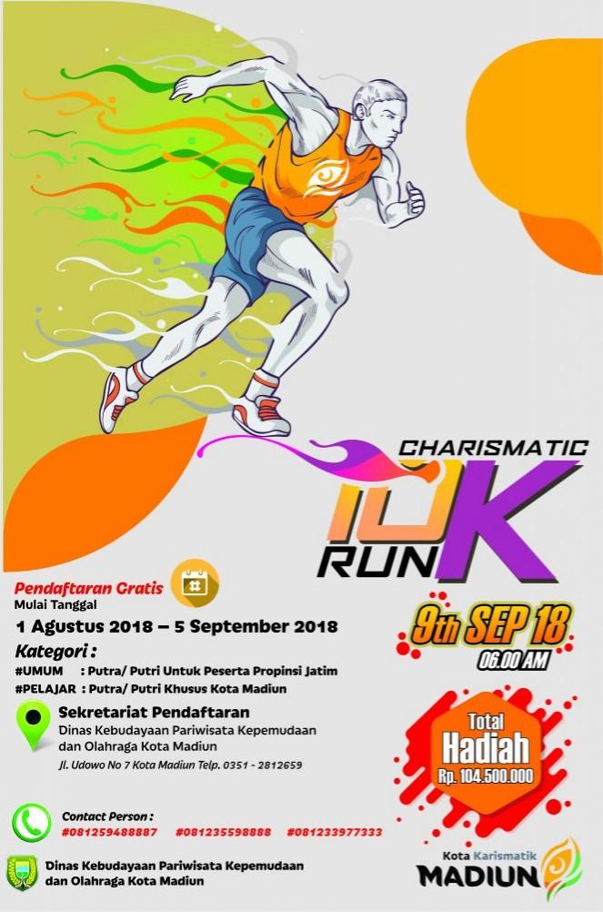 Charismatic 10K Run • 2018