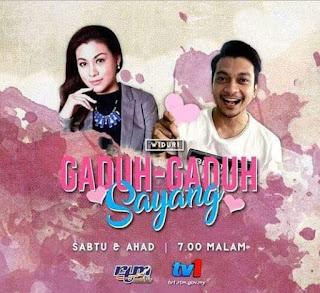 Gaduh -Gaduh Sayang Adaptasi Novel Lakonan Shukri Yahaya, Nur Risteena