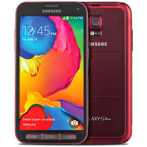 Samsung Galaxy S5 Sport for Sprint Cherry Red