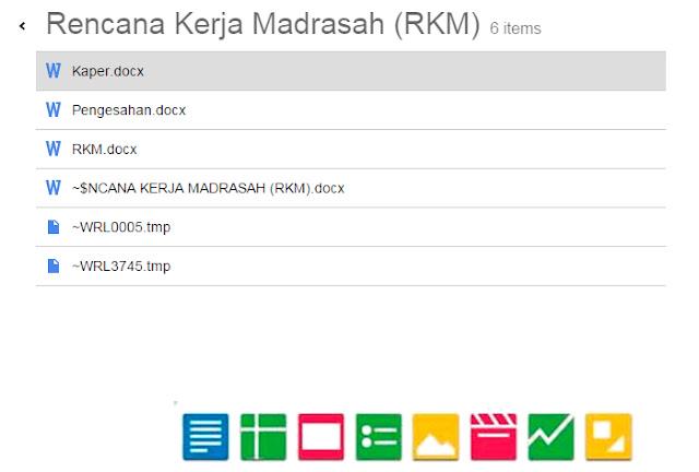 Contoh Rencana Kerja Madrasah Ibtidaiyah Versi Berkas Sekolah