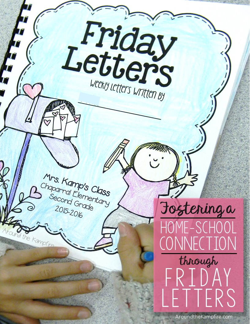Fostering The HomeSchool Connection Through Friday Letters  Around