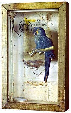 Grand Hotel Fontaine (Bleu Parrot) Joseph Cornell