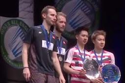 Marcus Gideon dan Kevin Sanjaya Menjadi Juara Badminton All England 2018