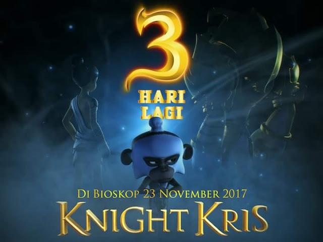 """3 Hari Lagi, Film Animasi Karya Anak Bangsa """"Knight Kris"""" Akan Tayang Di Bioskop"""