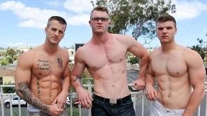 Quentin Gainz, Ivan James & Scott Ambrose (Bareback)
