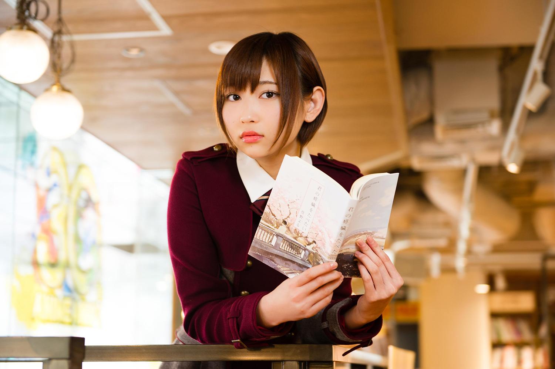 Shida Manaka 志田愛佳 Keyakizaka46, Keyakizaka shoten (欅坂書店) OtoCoto 2017.12