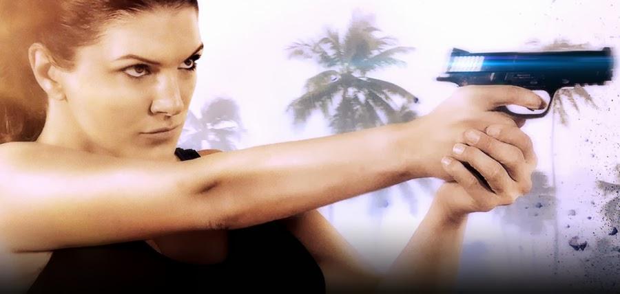 Gina Carano în filmul de acţiune In The Blood