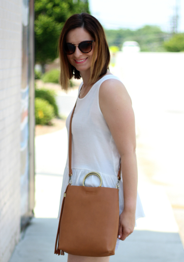 how to style a peplum top, pincord shorts, bohoblu, style on a budget
