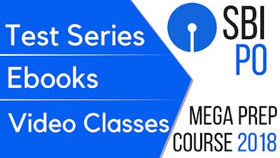 SBI PO Mega Preparation Course 2018